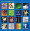 Science apps button transparent corners